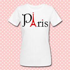 "T-shirt ""Paris"" torre eiffel, eiffel tower, tour eiffel, parigi, scegli colore!"