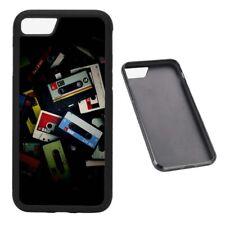 Mixtapes Retro RUBBER phone case Fits iPhone