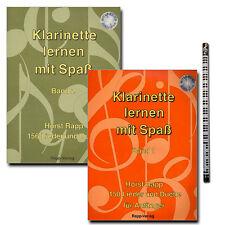 Horst Rapp-clarinete aprender con diversión-CD, piano lápiz de plomo - 9990051431254