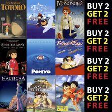 PONYO /& SOSUKE POSTER Best Scene Miyazaki Animation Movie A4 GLOSSY PICTURE