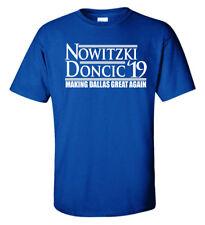"Dirk Nowitzki Luka Doncic Dallas Mavericks ""19"" T-Shirt"