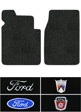 1953-1956 Ford F-250 Floor Mats - 2pc - Loop