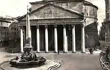 CARTOLINA EPOCA ROMA IL PANTHEON B/N LAZIO COD. 2681