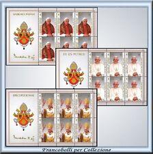 Vaticano 2005 FOGLIETTI Incoronazione Benedetto XVI  **