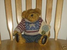 Boyds Plush Bear Eddie Beanberger, Toby Award Nominee