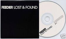 FEEDER Lost & Found UK 2006 1-trk promo test press CD