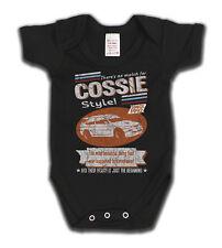 Escort Cosworth 1992 Cossie Ford Retro Style Car Babygrow