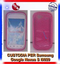 Pellicola+Custodia EXA PINK per Samsung I9020 Nexus S (B4)