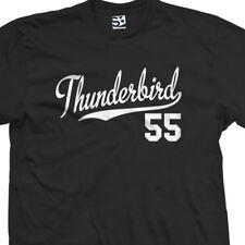 Thunderbird 55 Script Tail Shirt - 1955 T-Bird Classic Car - All Size & Colors