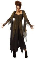 Damenkostüm - Goldene Hexe Karnevalkostüm Halloweenkostüm Hexenkostüm