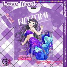 Anime LOVE LIVE! Nozomi Tojo Full Colour T-shirt Short Sleeve Tops Cosplay#J581