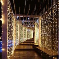 3x3M 300 LED Connectable Fairy Curtain Light Christmas Outdoor LED Fairy Lights