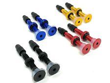 MT ZOOM Noir 50 mm Ultralight Tubeless Presta Vannes Gratuit de rechange Core /& Remover