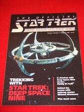 STAR TREK - UK FAN CLUB - Summer 1993 Vol 1 #1  ***FIRST ISSUE***
