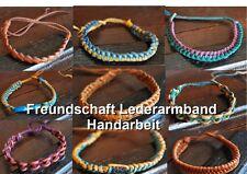 Surfenarmband Lederarmband Freundschaft Armband Leder Handarbeit  Tibet  Charm