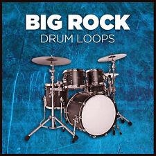 Tambor de roca loops (24-bit Big WAV) Cubase Logic Pro Tools Sonar Garageband etc.
