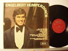 ENGELBERT HUMPERDINCK disco LP 33 g HUMPERDINCK made in UK stampa INGLESE Decca