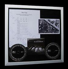BLACK SABBATH War Pigs LTD CD QUALITY MUSIC FRAMED DISPLAY+EXPRESS GLOBAL SHIP!