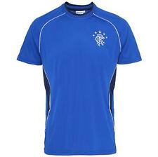 Oficial Glasgow Rangers Personalizado Para Hombre Camisetas Prendas para el torso Equipo De Fútbol Fan Club