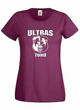 T-shirt Maglietta donna J1652 Ultras Granata Tifosi Torino Curva Toro Maratona