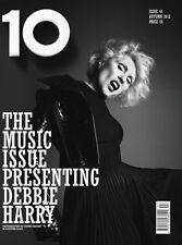 10 TEN,Debbie Harry,Anna Dello Russo,Kim Ann Foxman,Paulo Santos,Marique,Kinga