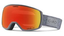 Giro Ski Goggles Snowboard Goggles FACET 18 Grey Brillenträgerfreundlich