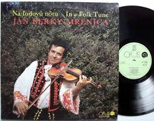 jan berky-mrenica in einem folk tune tschechische folk lp nearmint