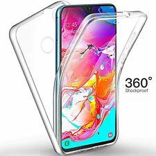 COVER per Huawei P Smart 2019 / Plus CUSTODIA Fronte Retro 360 SILICONE SLIM TPU