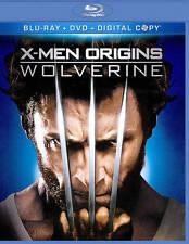 X-Men Origins: Wolverine (Blu-ray/DVD Combo + Digital Copy) NEW DVD 2009 Action,