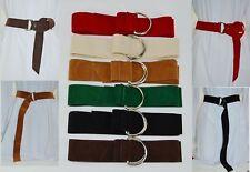 AU Adjustable 3.8cm Wide Multi-Color Metal Buckle Pendant  Woman Waist Belt BH3