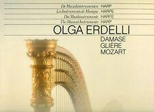 OLGA ERDELLI - DIE MUSIKINSTRUMENTE HARFE - DAMSE - GLIERE - MOZART   LP (L6328)