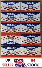 Gillette Wilkinson Sword Double Edge Razor Shaving Blades Barber Shavette DE