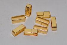 Breite Gürtel-Schlaufe / Metall-Schlaufe für 20 mm Gürtel / Riemen, Eisen, Gold