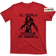 The Predator Shane Black Prequel Super Contra Commando Prometheus movie T Shirt