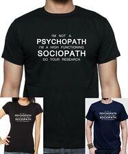 Sherlock: no soy un psicópata cita.. T-Shirt