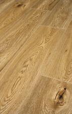 12mm Click Laminate Flooring Packs V Groove Pallet Supreme Oak Wide looks real