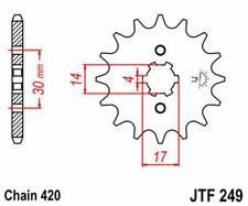 F24915: JT SPROCKETS Piñon JT 249 de acero con 15 dientes