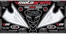 Honda CBR600RR 07 08 09 Front Fairing Number Board Tank Pad 3D Gel Protector