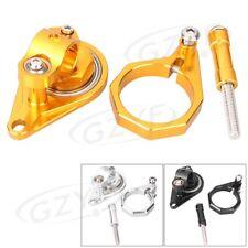 CNC Steering Damper Stabilizer Bracket Mount Holder For Suzuki GSXR600 750 06-10