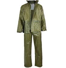 Mil-Tec 2-tlg Regenanzug - Regenjacke Regenhose inkl. Tasche Oliv