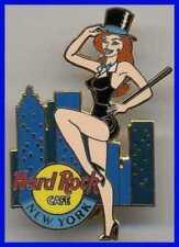 Hard Rock Cafe NEW YORK 2001 Rockette Dancer Girl Skyline w/WTC PIN - HRC #6466
