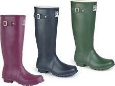 Woodland ORIGINAL Unisex Durable Rubber Upper Comfortable Wellington Boots
