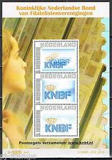 Nederland 2751 vel van 3 Persoonlijke postzegels KNBF -postzegels verzamelen