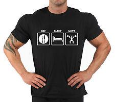 "T-Shirt Bodybuilding Fitness Palestra ""Eat sleep..."""