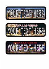 PERSONALIZZATO Las Vegas Targhe Automobilistiche stile americano PIASTRA