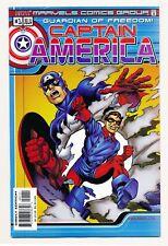 Captain America (2000) 1 VF, (2002) 1,27,30 NM, (2004) 1-3,5,10,20,43-45,49-50
