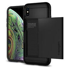 iPhone X/XS, XS Max Spigen® [Slim Armor CS] Card Wallet Shockproof Case Cover