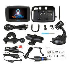"5"" Motorcycle GPS SAT NAV Navigation Navigator 16GB Touch Screen Waterproof IPX7"