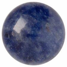 Natural Extra Fine Sodalite - Round Cabochon - Canada - AAA+ Grade