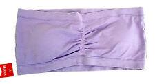 18980 Hanes Bandeau Bra, Strapless, Purple